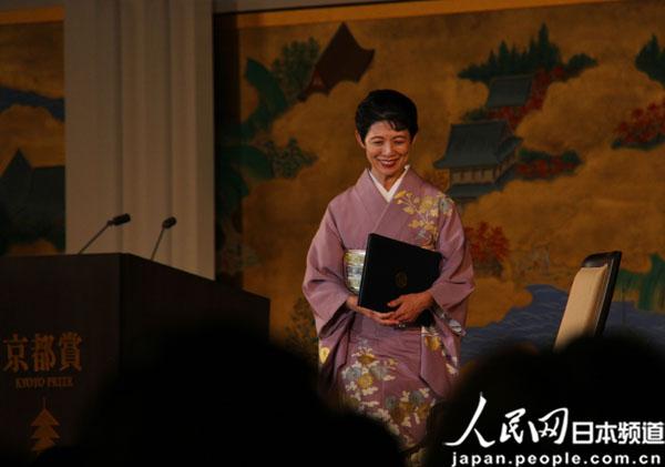 第二十九届京都奖举行颁奖典礼(组图)
