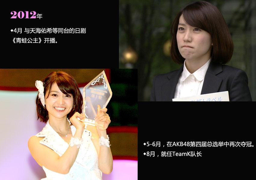 【图说】大岛优子在akb48的八年之迹【7】