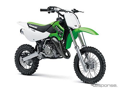 川崎将发售越野摩托车kx系列的2015年款车型