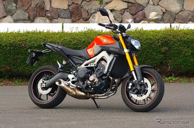 动型摩托车MT-09火了 雅马哈提高年度销售计划