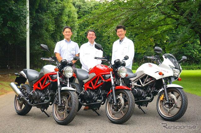 本田250cc裸身摩托车VTR改用子午线轮胎 成为