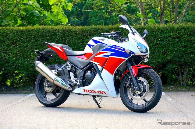 本田新改良摩托车CBR250R向用户提供更加运