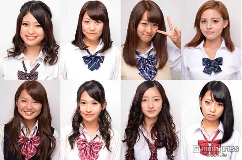 日本关东高中美少女大赛决赛成员公布