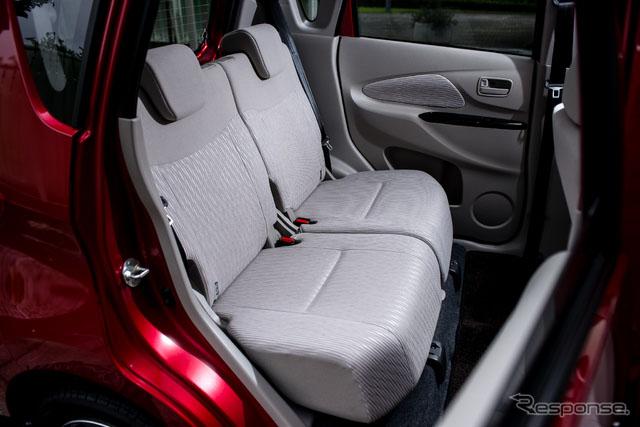 三菱面包车ek wagon和ek custom引进电池助手每升油行驶30公里【8】