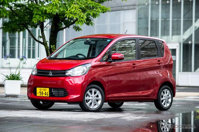 三菱面包车ek wagon和ek custom引进电池助手每升油行驶30公里【3】