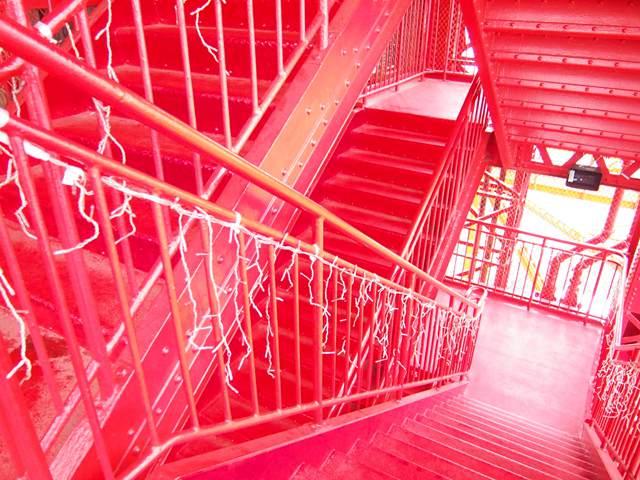 【日本旅游·景点】徒步攀登东京塔品味构造之美【3】