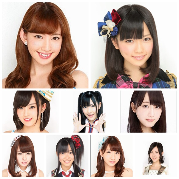 异大!小?阳菜获封日本人眼中最可爱AKB48成