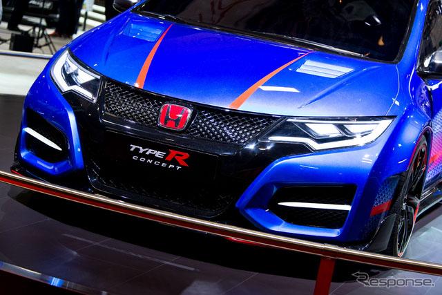 "本田""civic type r concept""最新车型更加突出越野性【5】"