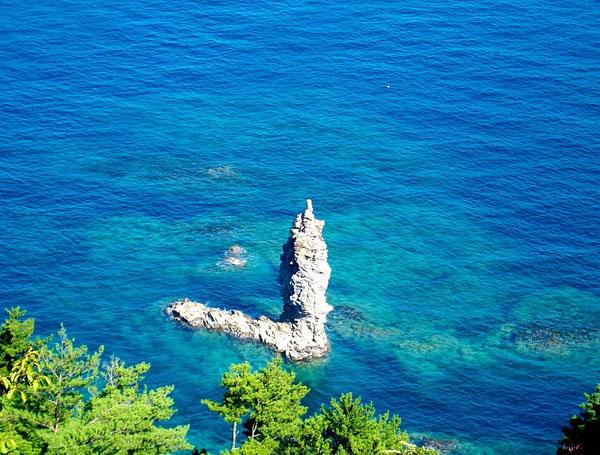 【日本自由行景点】岛根县景点漫步:蜡烛岛