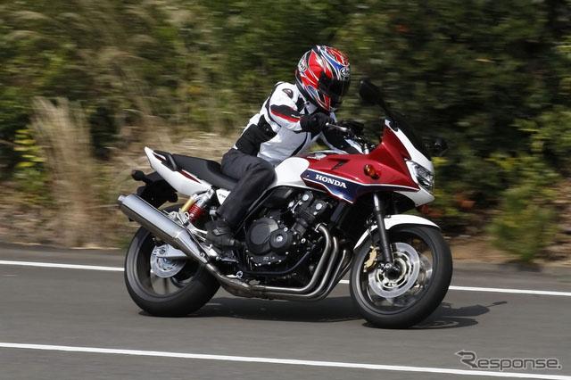 【日系摩托】本田摩托车CB400SF\/SB保养&