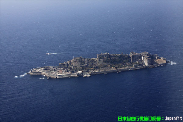 长崎市·军舰岛(长崎县供图)