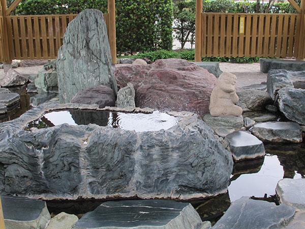 岛原温泉·天然温泉健康之泉(长崎县供图)