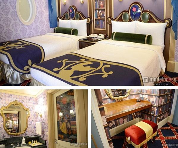 东京迪士尼酒店新增美女与野兽等主题客房