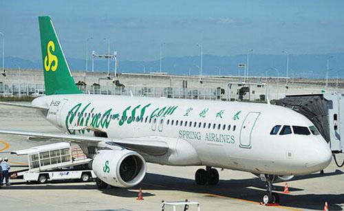 春秋航空将以关西机场为据点