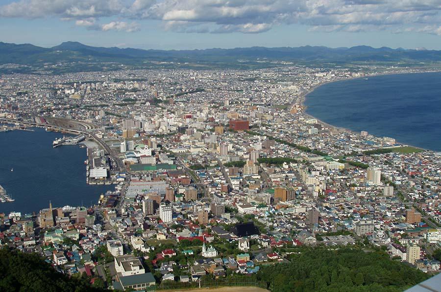 【日本旅游攻略】北海道旅游:函馆夜景【5】