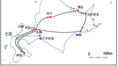 北海道7日6晚jr pass列车通票自由行