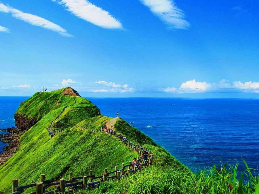 【北海道旅游】神威岬的辽阔与湛蓝