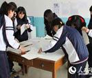 日本志愿者在吉林教授日语