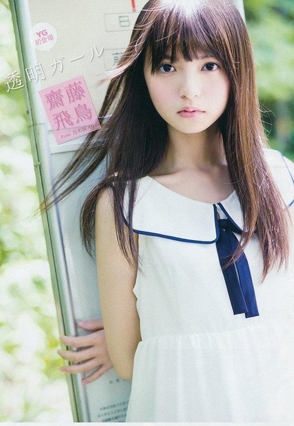 Image: 日本美少女齋藤飛鳥走紅 五官精致似漫畫女孩--日本頻道--人民網