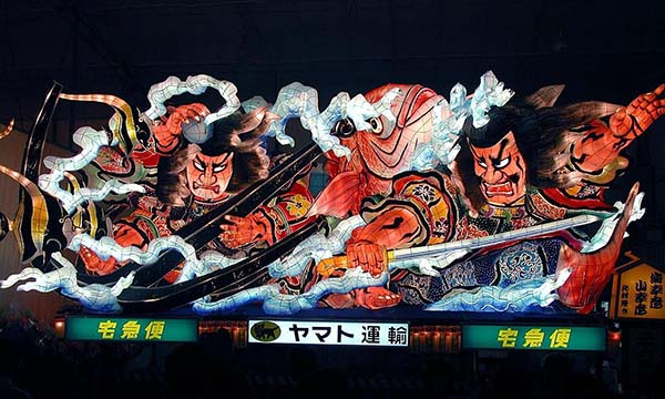 日本旅游·夏日风物诗:青森倭武多祭(资料图)