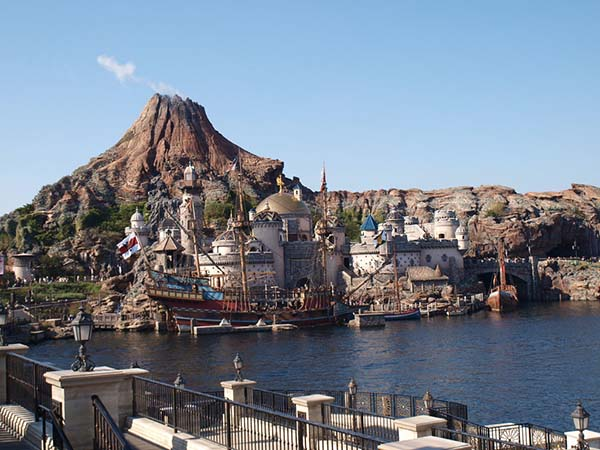 日本旅游地�_日本旅游景点:东京迪斯尼海洋 千叶县浦安市