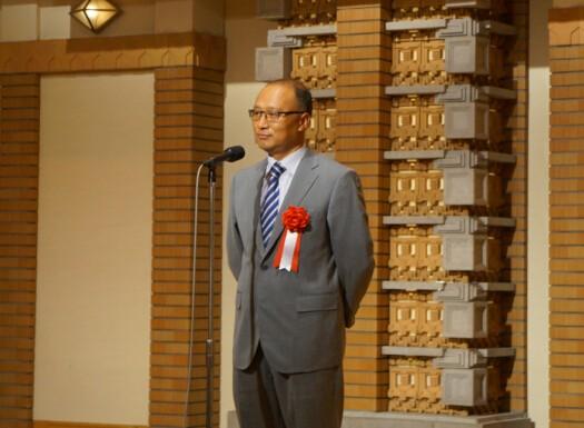 中国驻日大使馆经济商务公使刘亚军