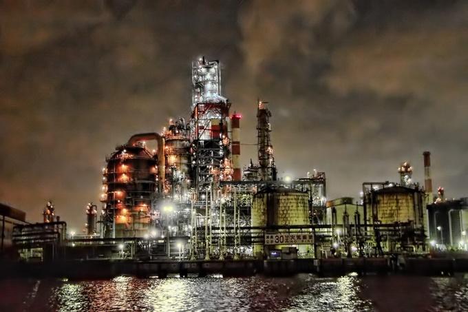 游日本 随著 工厂萌 夜游五大区的工厂夜景