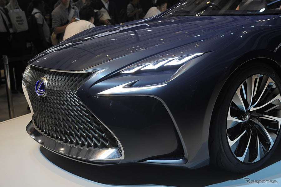 东京车展日系新车:丰田首秀燃料电池车概念车lf-fc