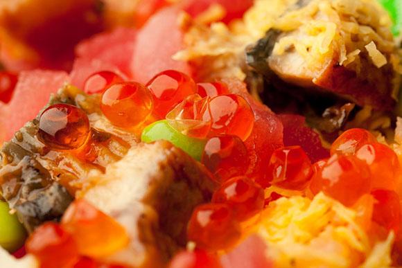 日本寿司美食女儿节必吃的散美食所包含的寓健的见闻脑图片
