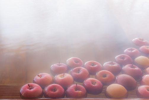 """几乎日本各地都有水果温泉,苹果、柠檬、柑橘等当地特产水果和应季水果""""调制""""而成的水果温泉成为一道新鲜话题。不过,需要提醒的是,以此为名借机博得外界注意的宣传用意多余实际意义,正如我们时有耳闻的什么日本人奢侈到用葡萄酒泡温泉之类的,那也不过是一个话题兴奋点而已。"""