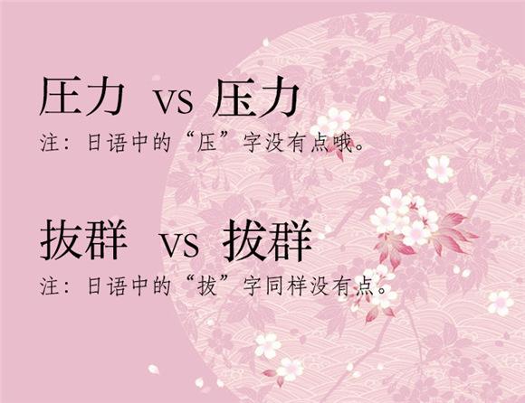 中日文汉字中的孪生兄弟