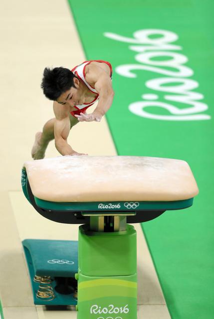 里约奥运:男子跳马决赛 日本选手白井健三摘铜--日本频道--人民网