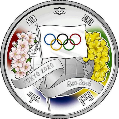 东京奥运会纪念币设计方案确定
