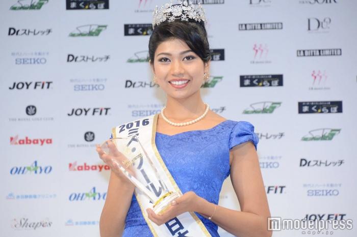 2016世界小姐日本代表出炉_日印混血美女夺冠