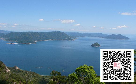 日本旅游自由行景点:广岛县的弥山
