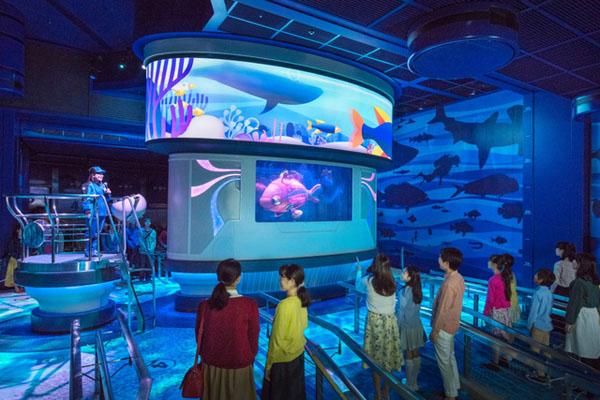 """遇上""""尼莫"""" 东京迪士尼海洋推出""""海底总动员""""游乐设施"""