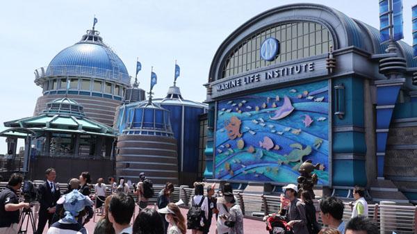 """东京迪士尼海洋""""海底总动员""""主题游乐设施(朝日新闻)"""