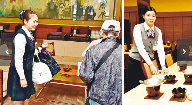 日本富山温泉旅馆迎来中国留学毕业生用中国人的热情与专业赢得游客信任