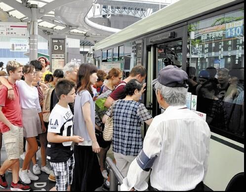 京都市一日券交通通票2018年提价到每张600日元