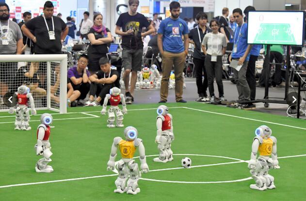 RoboCup机器人世界大会在日本名古屋举行