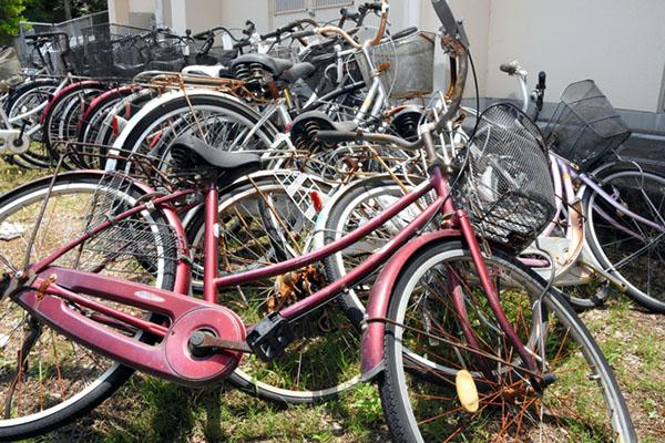日本香川大学回收再利用废弃自行车 开展租车业务