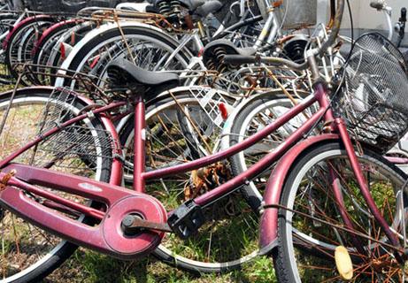 废自行车再利用