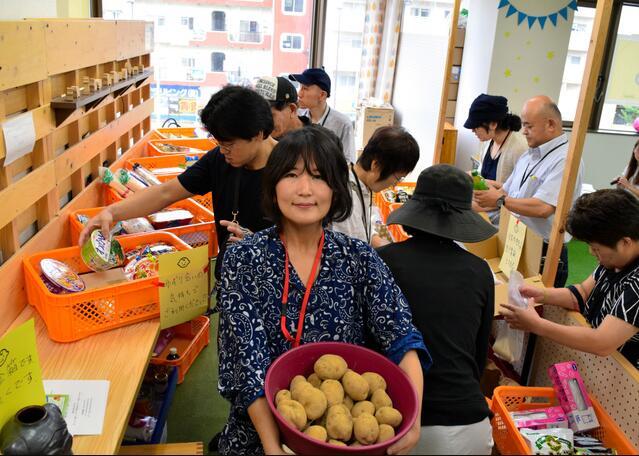 日本开办免费超市 向市民提供捐赠食品