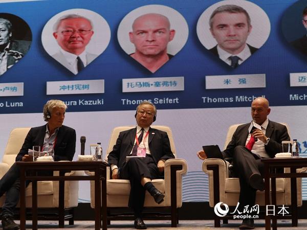 冲村宪树当选人民日报社国际问题研究中心首批外国专家
