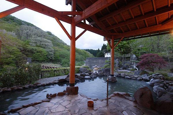 冬季旅游去日本东北赏雪 寻觅一处可在露天温泉里与天地为伍的住处