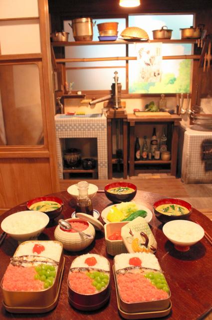 """东京""""吉卜力饭""""企划展览好评如潮 将延长至11月"""