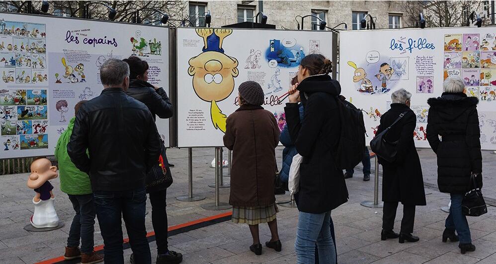 第45届法国昂古莱姆国际漫画节开幕日本漫画成热点