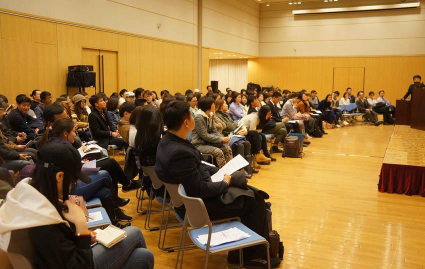 NHK纪录片《行家本色》制作人石田凉太郎在京演讲