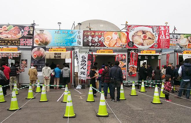 日本九州长崎市举办一年一次的全国性拉面品味活动