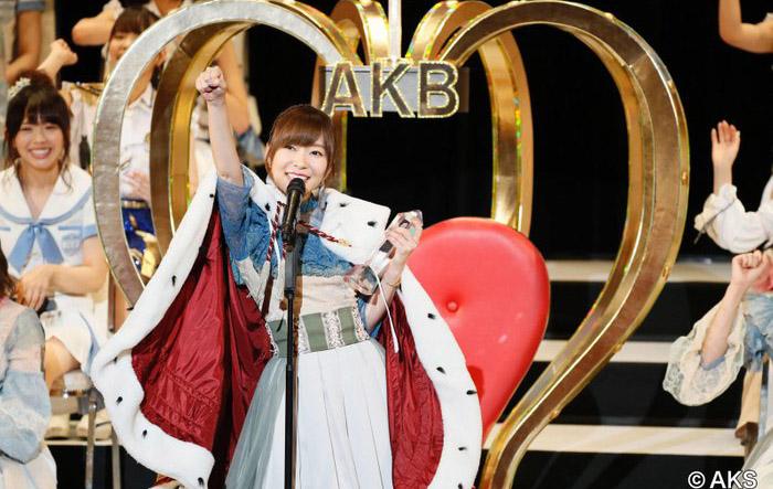 指原莉乃确定出席第10届AKB48选拔总选举的电视直播